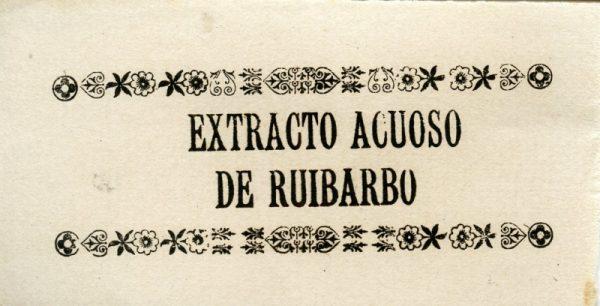 226_Extracto Acuoso de Ruibarbo