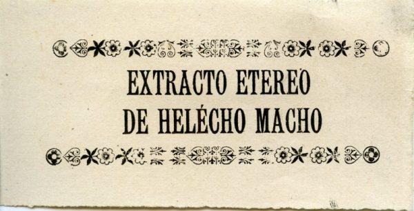 229_Extracto Etéreo de Helecho Macho