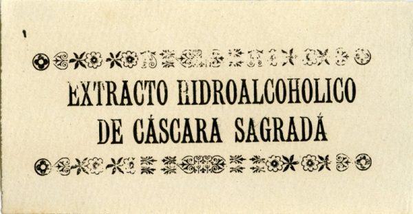 230-Extracto Hidroalcohólico de Cáscara Sagrada