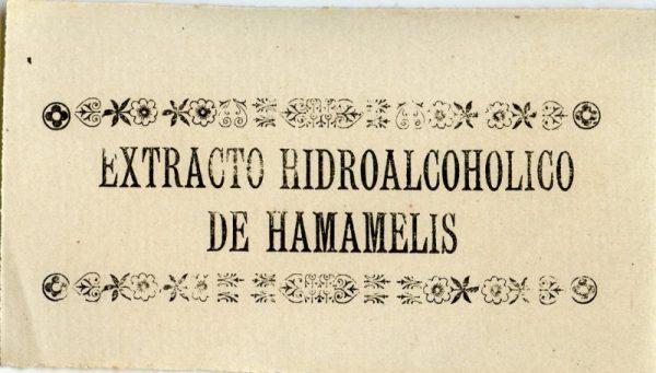 231-Extracto Hodroalcohólico de Hamamelis