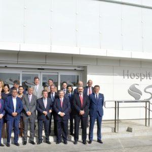 l Gobierno municipal felicita a Solimat por el 25 aniversario del Hospital San José, el único laboral que una mutua tiene en la región