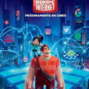 Cine de Verano: Ralph rompe internet