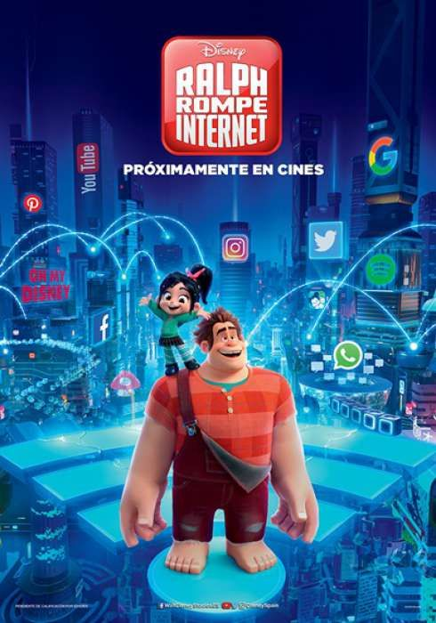 http://www.toledo.es/wp-content/uploads/2019/06/2a114cc72c695add162f929e0be37bde.jpg. Cine de Verano: Ralph rompe internet