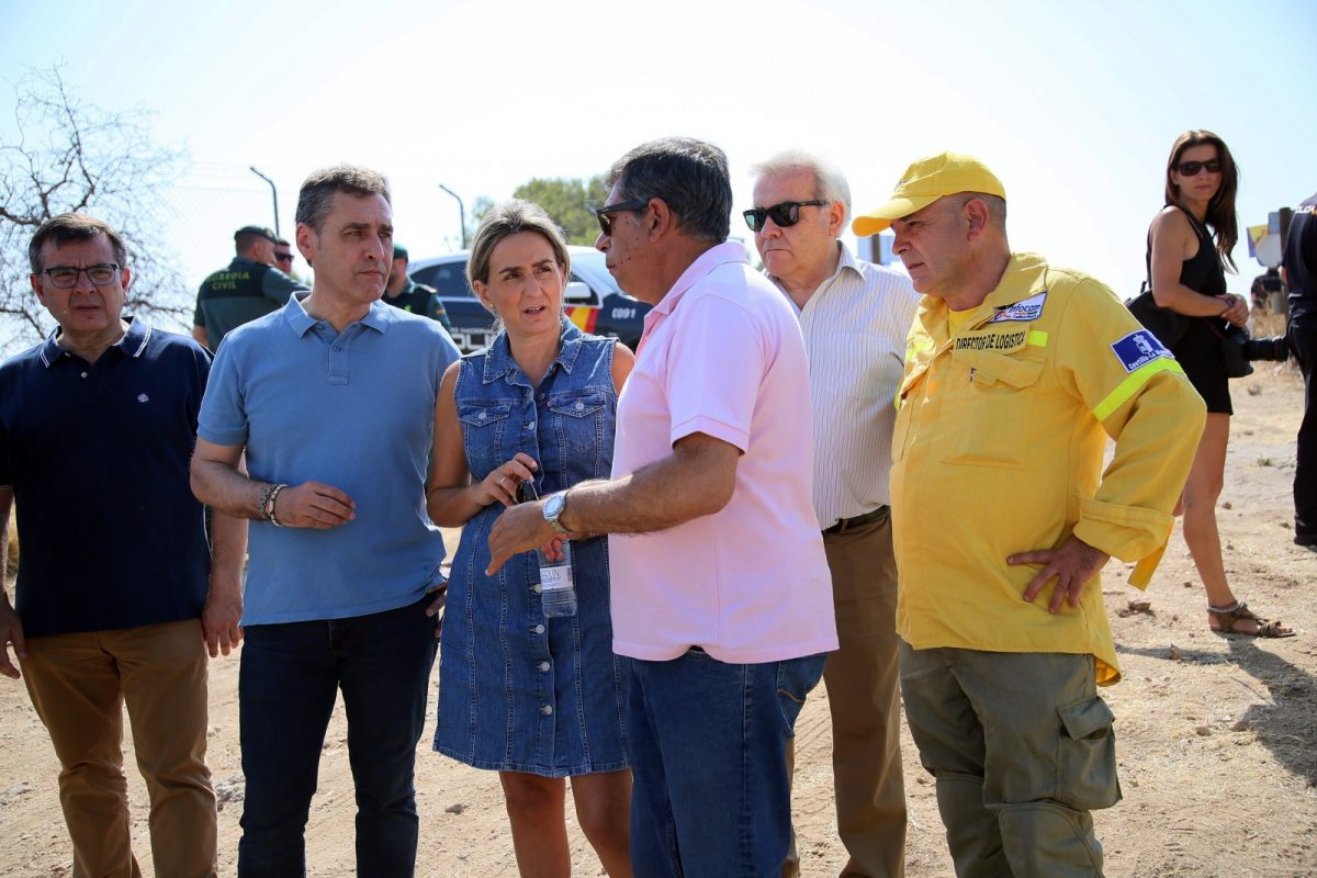 http://www.toledo.es/wp-content/uploads/2019/06/756a9307-1200x800.jpg. La alcaldesa agradece el comportamiento ciudadano ante el incendio declarado este viernes y destaca la coordinación de medios
