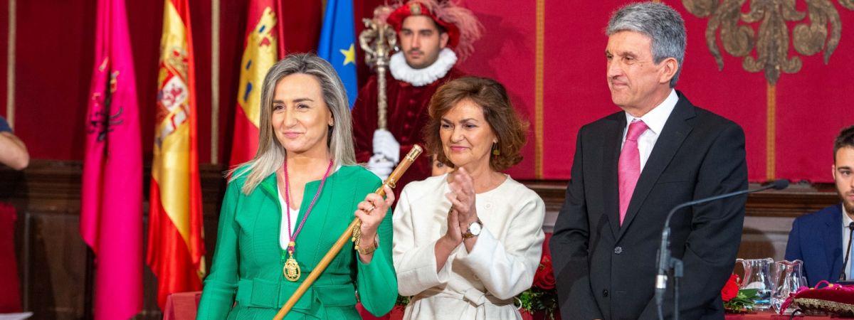 """La alcaldesa gobernará Toledo """"con el único…"""