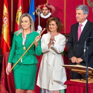"""a alcaldesa gobernará Toledo """"con el único propósito de mejorar nuestra ciudad y la vida de sus vecinos"""""""