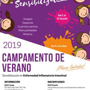 Campamento ACCU SensibilizatEII para niñ@s de 4 a 12 años