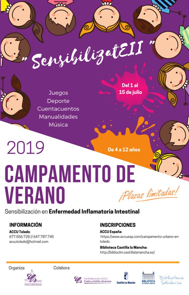 http://www.toledo.es/wp-content/uploads/2019/06/campamento-accu.jpg. Campamento ACCU SensibilizatEII para niñ@s de 4 a 12 años