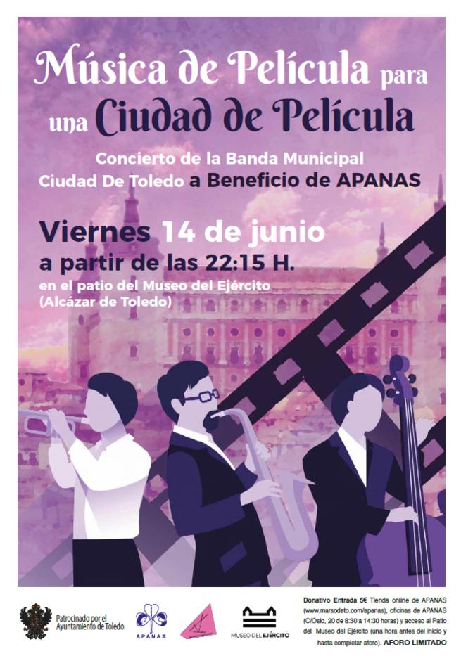 """http://www.toledo.es/wp-content/uploads/2019/06/captura_3.png. Concierto benéfico """"Música de película para una ciudad de película"""""""