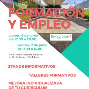 ERIA DE OPORTUNIDADES DE FORMACION PARA EL EMPLEO. 6 y 7 de Junio.