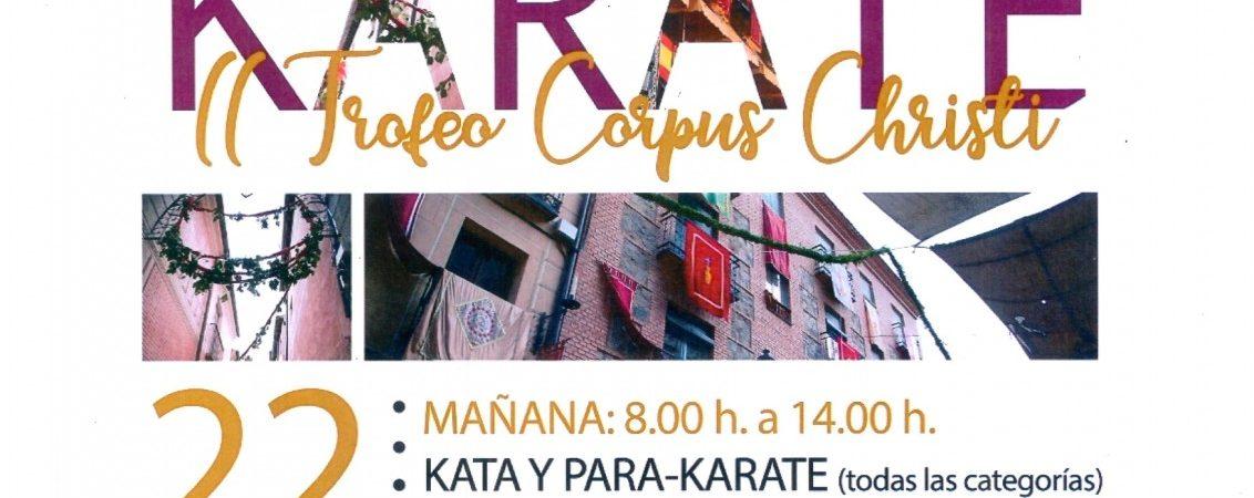 II Trofeo Corpus Christi de Karate