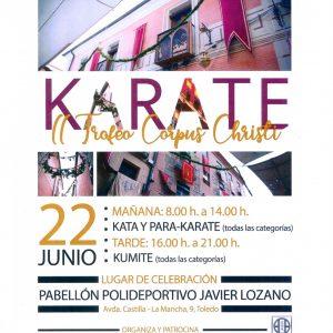 I Trofeo Corpus Christi de Karate