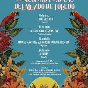 IV Festival de Músicas y Danzas del Mundo de Toledo: Fado Violado