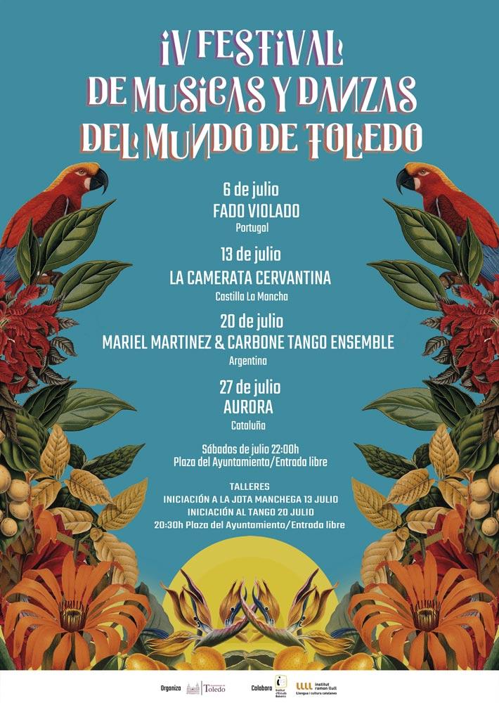 http://www.toledo.es/wp-content/uploads/2019/06/cartel-musicas-del-mundo.jpg. IV Festival de Músicas y Danzas del Mundo de Toledo: Taller de iniciación a la jota manchega