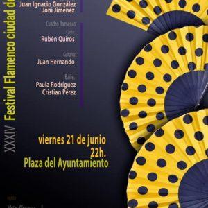 "XXXIV Festival de flamenco ""Ciudad de Toledo"""
