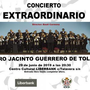 Concierto extraordinario: Coro Jacinto Guerrero de Toledo