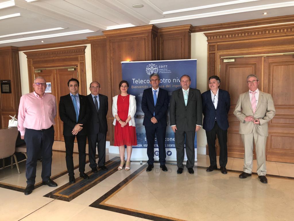 http://www.toledo.es/wp-content/uploads/2019/06/congreso_teleco_seguridad-4.jpeg. Toledo acoge una nueva edición del Congreso de Seguridad y Telecomunicaciones