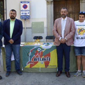 l Ayuntamiento se suma al Día Mundial de la ELA con la iluminación del Baño de la Cava y la Puerta de Alcántara