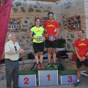 ván Hernández y Susana Montoro, ganadores absolutos del I Trail del Valle impulsado con la colaboración del Ayuntamiento