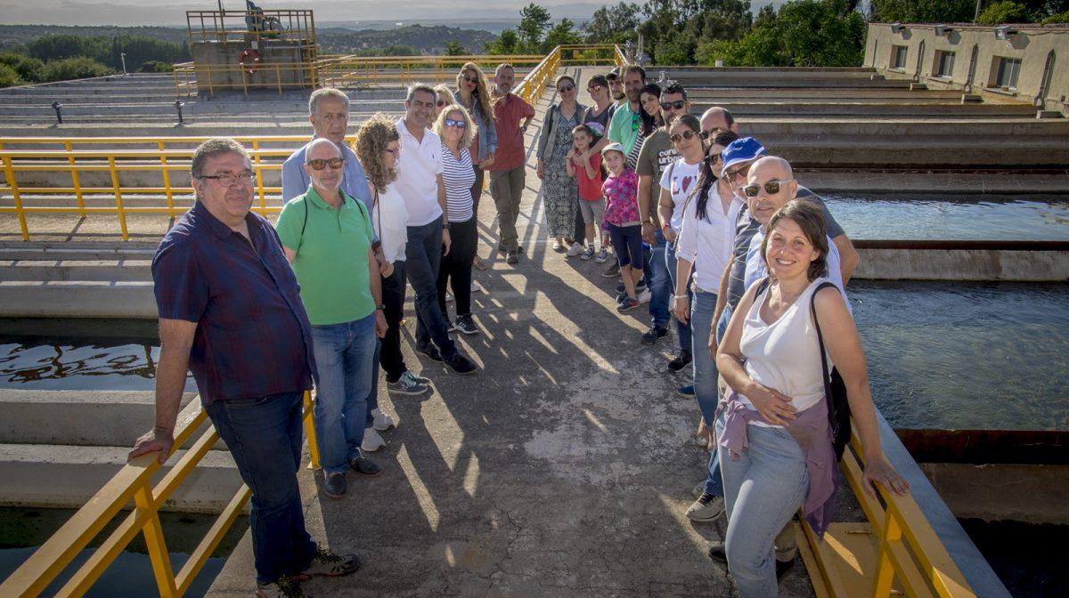 http://www.toledo.es/wp-content/uploads/2019/06/jp2_1218-1200x672.jpg. El Ayuntamiento realiza una Jornada de Puertas Abiertas en la ETAP del Cerro de los Palos para concienciar sobre el uso del agua