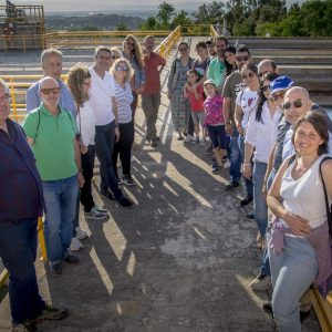 l Ayuntamiento realiza una Jornada de Puertas Abiertas en la ETAP del Cerro de los Palos para concienciar sobre el uso del agua