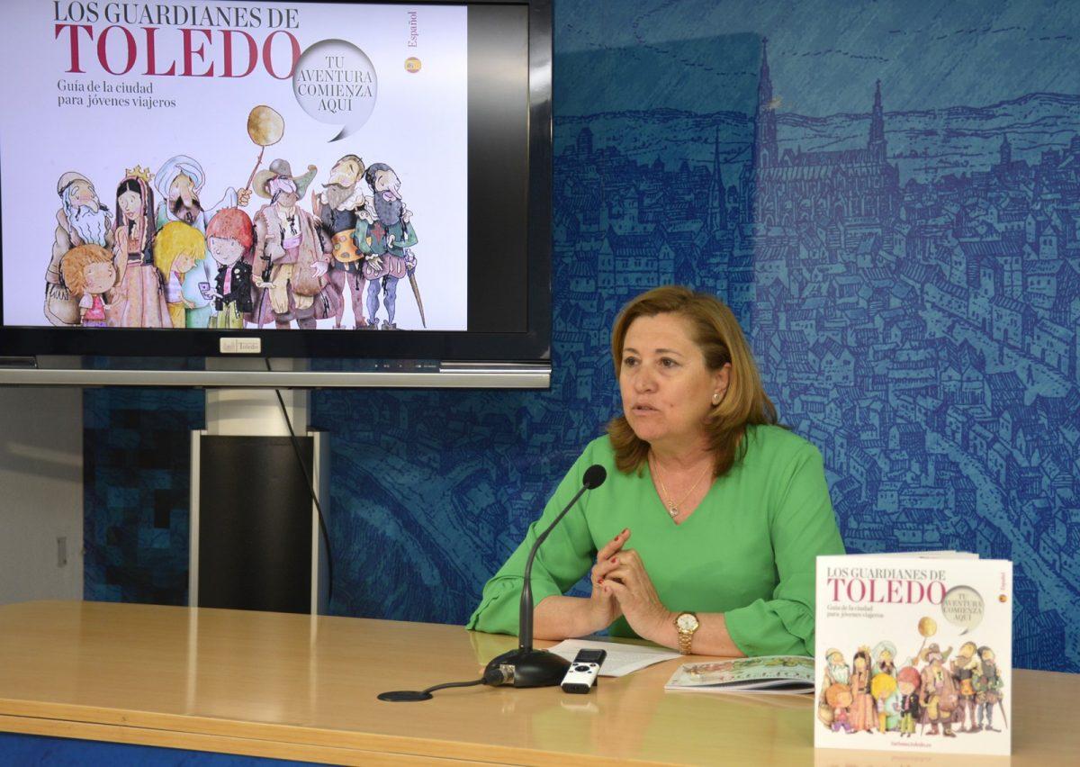 http://www.toledo.es/wp-content/uploads/2019/06/rp-rosana-rodriguez-01-1200x852.jpg. El Ayuntamiento edita una guía para acercar el patrimonio artístico, histórico, gastronómico y natural de Toledo a los más jóvenes