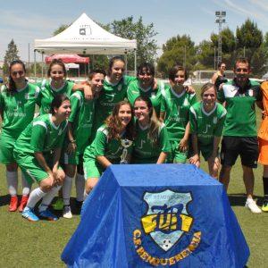 l Ayuntamiento participa en la entrega de trofeos de la Copa de Plata de Fútbol Femenino con la que culmina el X Torneo Corpus