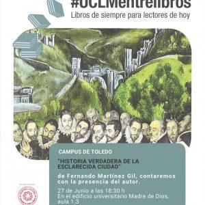 Encuentro literario con Fernando Martínez Gil