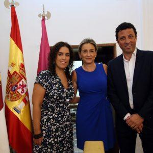 """ilagros Tolón agradece a los concejales Francisco Armenta e Inés Sandoval su """"dedicación y desvelos"""" por la ciudad de Toledo"""