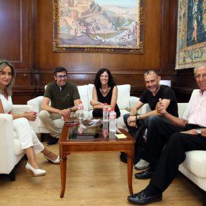 a alcaldesa confirma que la escultura de Bahamontes regresará al Miradero antes del 13 de septiembre para la Vuelta Ciclista a España