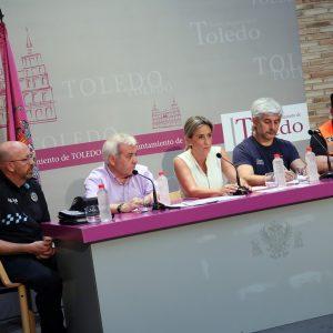 a alcaldesa resalta la coordinación de los servicios de emergencia y las administraciones en la extinción del incendio de Montesión