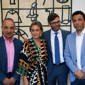a alcaldesa firma un convenio con la Fundación Mapfre para que usuarios de Plena Inclusión hagan prácticas en el Ayuntamiento