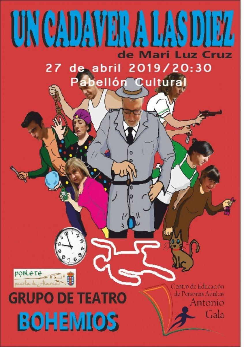 http://www.toledo.es/wp-content/uploads/2019/07/1554894969_teatro-bohemios1-846x1200.jpg. Teatro. Un cadáver a las diez