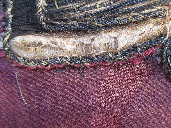 18 - Relleno de papel en bordado