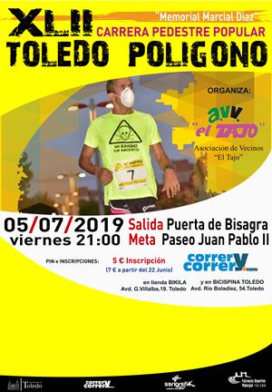 http://www.toledo.es/wp-content/uploads/2019/07/190705-xlii-carrera-pedestre-popular-toledo-poligono-cartel.png. XLII Carrera Pedestre Toledo-Polígono