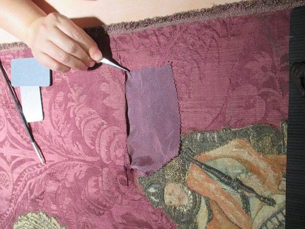 31 - Colocación de soporte en desgarro