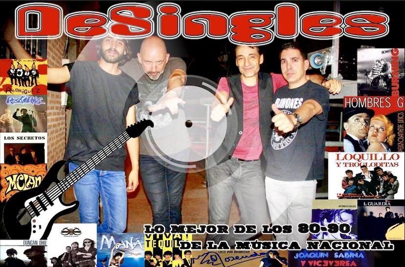 http://www.toledo.es/wp-content/uploads/2019/07/48425787_532185227290032_1215188944031842304_n.jpg. Concierto de música. DeSingles (Tributo al Pop español)