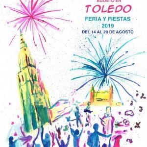 Aires de Fiestas', de Ellen Lange, será el cartel anunciador de la Feria y Fiestas de Agosto 2019 de Toledo