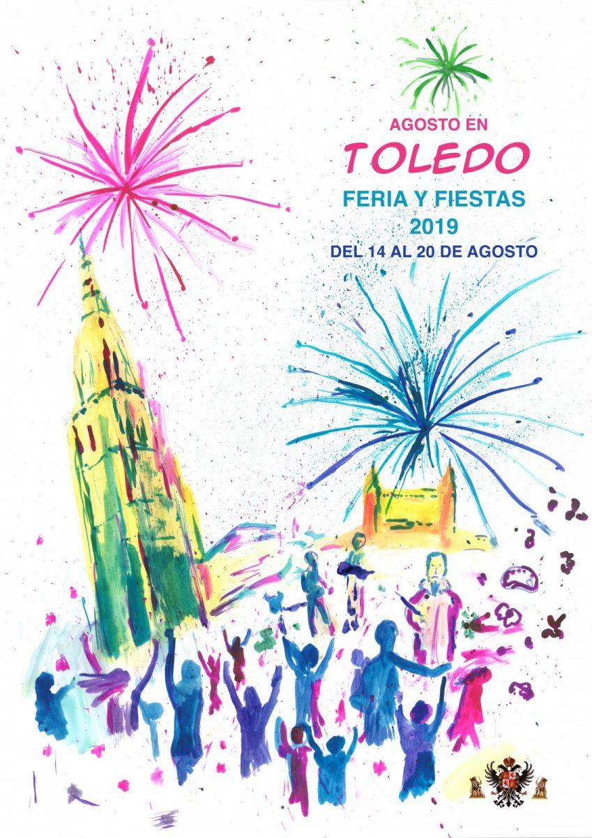 https://www.toledo.es/wp-content/uploads/2019/07/aires-de-fiestas-de-ellen-lange-cartel-feria-agosto-2019-849x1200.jpg. 'Aires de Fiestas', de Ellen Lange, será el cartel anunciador de la Feria y Fiestas de Agosto 2019 de Toledo