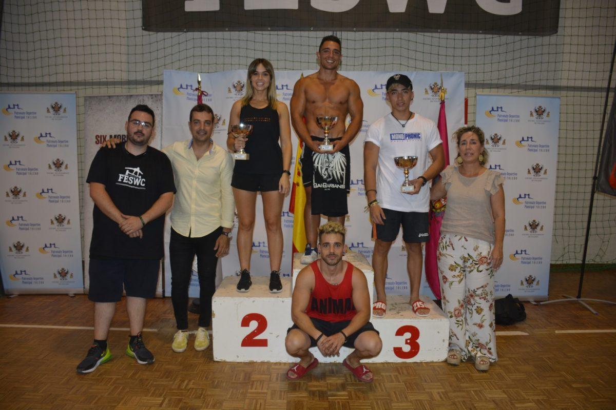 http://www.toledo.es/wp-content/uploads/2019/07/dsc0056-1200x800.jpg. Los toledanos Jaime Cabeza, Paula Gómez y Josué García logran su ascenso a podio en el Campeonato de España de Street workout