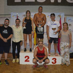 os toledanos Jaime Cabeza, Paula Gómez y Josué García logran su ascenso a podio en el Campeonato de España de Street workout