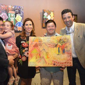 l Ayuntamiento respalda la muestra 'in-culcARTE' con la que jóvenes de Down Toledo hacen un llamamiento a la inclusión