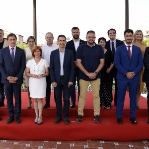 ilagros Tolón asiste a la constitución de la Asamblea General del Grupo Ciudades Patrimonio que avanza sus primeros retos