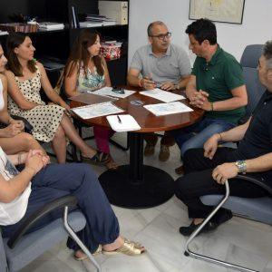 eunión de trabajo con los responsables de las Escuelas Infantiles Municipales para perfilar el nuevo curso 2019-2020