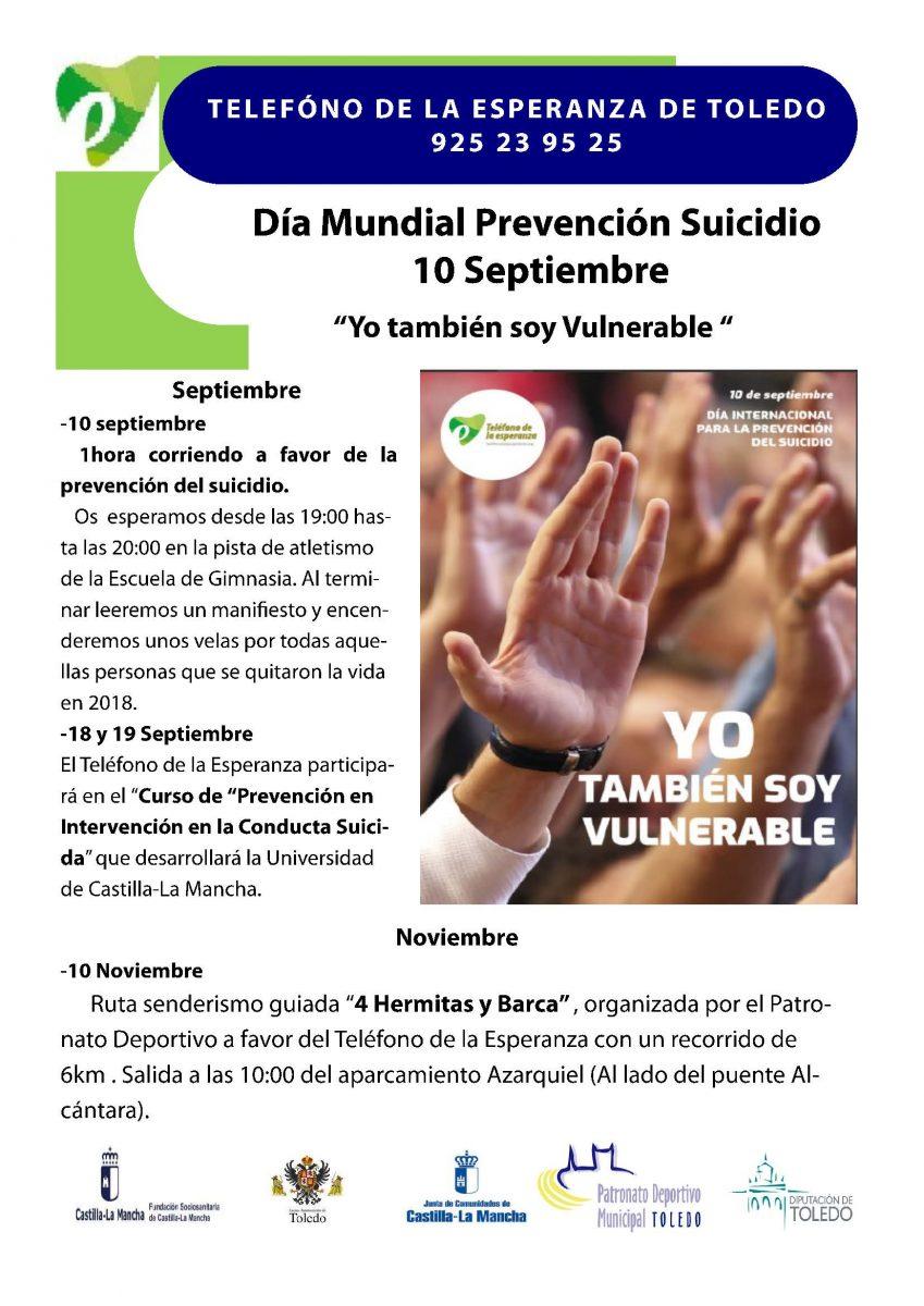 http://www.toledo.es/wp-content/uploads/2019/08/10-septiembreesperanza-849x1200.jpg. Día Mundial Prevención Suicidio