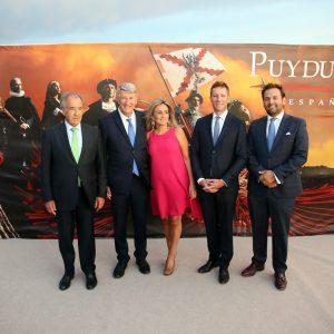 """ilagros Tolón destaca en la apertura de Puy Du Fou que este proyecto cultural supondrá """"un antes y un después para Toledo"""""""