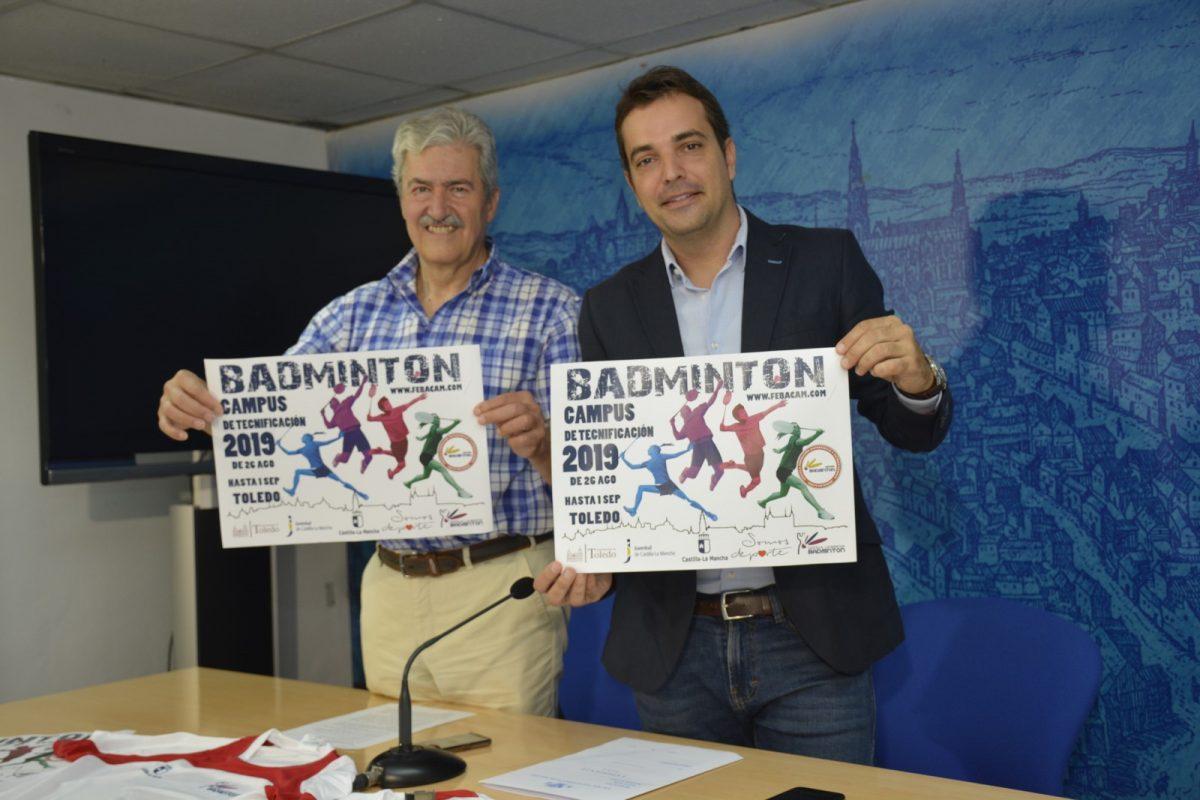 http://www.toledo.es/wp-content/uploads/2019/08/badminton-1200x800.jpg. El Campus de Tecnificación de Bádminton impulsado por el Ayuntamiento incrementa en un 25 por ciento el número de plazas