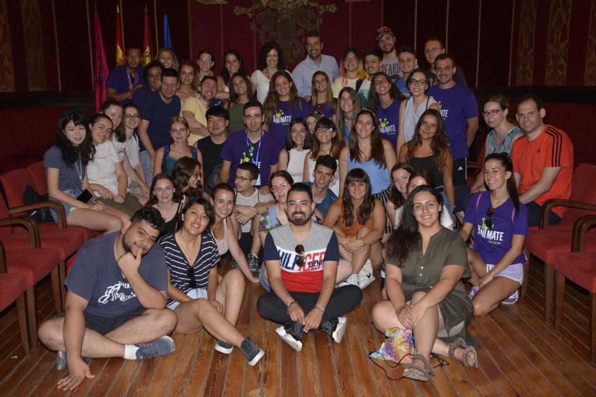 http://www.toledo.es/wp-content/uploads/2019/08/dsc0436-1200x800.jpg. El Ayuntamiento recibe a los 40 jóvenes que este año integran los campos de trabajo voluntario gestionados por 'Anímate' en Toledo
