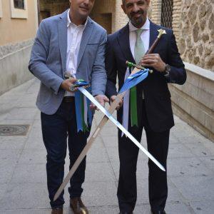 l Trofeo Feria de Fútbol enfrentará el sábado al CD Toledo frente al Getafe B y sustituirá la copa por la espada toledana como novedad