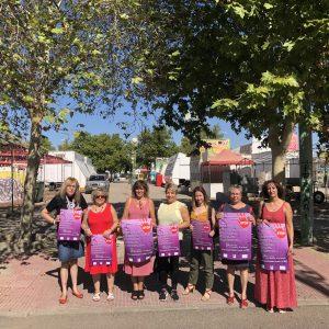 Por unas fiestas sin agresiones sexuales', lema de la campaña de concienciación impulsada por el Ayuntamiento en el recinto ferial